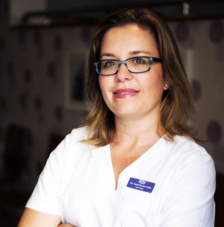 Ginecóloga Ingrid Martínez Wallin en Tenerife