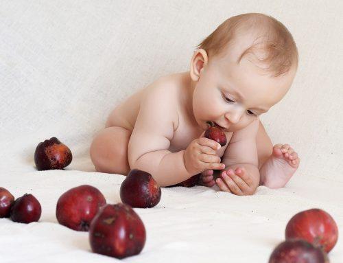 ¿Por qué los niños tienen que masticar?