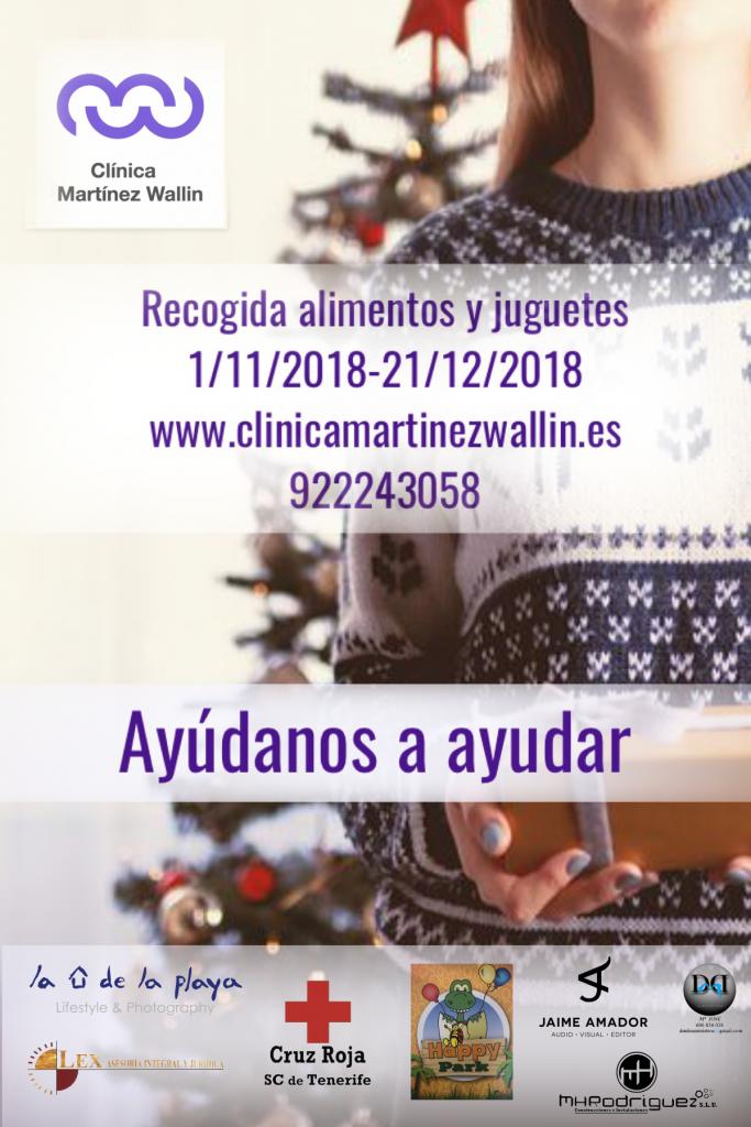 Cruz Roja y Clínica Martínez Wallin en Tenerife