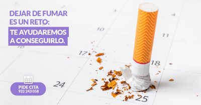 La mejor terapia para dejar de fumar en Tenerife. Seguro que lo consigues!
